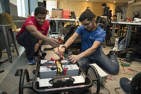Students build assistive technologies at MIT's annual ATHack