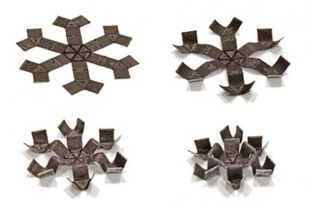 Magnetic 3-D-printed structures crawl, roll, jump, and play catch