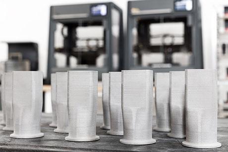 The startup Desktop Metal is reinventing the production of metal parts with 3D printing