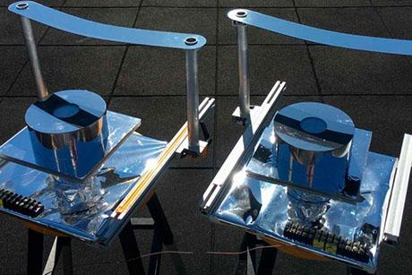 Device provides cooling on a hot sunny day - without using power