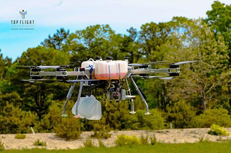 New hybrid gas-to-electric drones offer more range, payload size, and power over battery-powered drones