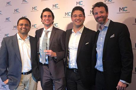 Infinite Cooling, a startup from the Varanasi Research Group, won the top prize at the MassChallenge Awards