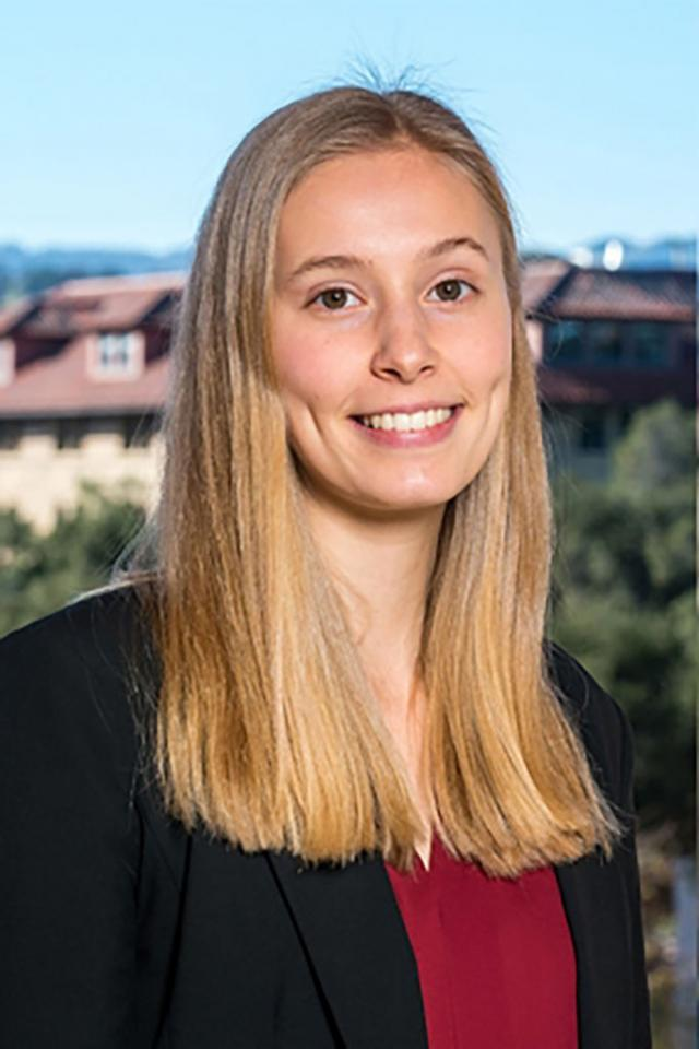 Senior Jani Adcock receives one of the first ever Knight-Hennessy Scholarships, which funds graduate school at Stanford